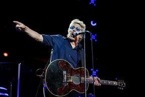 Roger Daltrey and The Who played to about 9,000 fans at Rexall Place Sunday night. (CODIE MCLACHLAN)