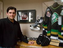 Bryan Rodney, a former NHLer and part of the 2005 Memorial Cup champion Knights. (MIKE HENSEN, Free Press file photo)