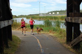 The Red Willow Trail in Lions Park is an excellent place to spend an afternoon.