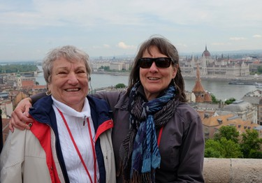 Emilie Prue and her daughter Susan loved touring the streets of Budapest. Emilie's family fled from Hungary to Canada in the early 20th century. JIM BYERS/Special to Postmedia Network