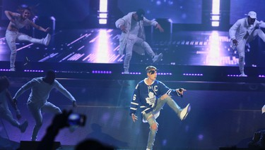 Justin Bieber takes his Purpose Tour to the Air Canada Centre in Toronto, Ont. on Wednesday May 18, 2016. Veronica Henri/Toronto Sun/Postmedia Network