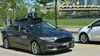 In this undated photo provided by Uber, a Ford Fusion hybrid outfitted with radars, laser scanners and high-resolution cameras drives along the streets of Pittsburgh. Ride-hailing company Uber Technologies Inc. is testing the self-driving car on public streets in the city. San Francisco-based Uber says Pittsburgh is an ideal place to test self-driving cars because it has a wide variety of weather and road types. (Uber via AP)