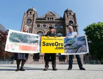 A handful of protesters were at Queen's Park inToronto to protest the use of farmland for a concert venue in Oro Mediate township. They are fighting it in court on Friday May 20, 2016. Michael Peake/Toronto Sun/Postmedia Network