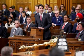 Prime Minister Justin Trudeau delivers a formal apology for the Komagata Maru incident in the House of Commons on Parliament Hill in Ottawa, Canada, May 18, 2016. REUTERS/Chris Wattie