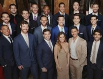 "Bachelorette JoJo Fletcher is surrounded by 26 of of ""America's most eligible bachelors."" (ABC photo)"