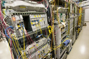 Public Works on Tuesday announced the winner of a $322 million contract to build and run an expanded data centre at Base Borden. WAYNE CUDDINGTON/POSTMEDIA