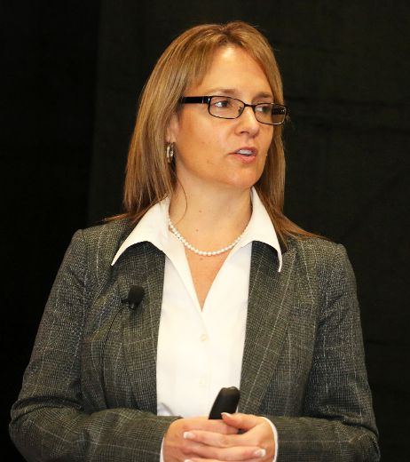 Corina Moore, the president and CEO of Ontario Northland said her company is ready and more than able to provide a world class rail freight service to help the success of the Ring Of Fire mining development. Moore was speaking in Timmins earlier this month when she said Ontario Northland is gradually improving its service since the company was thrown into upheaval by the divestment process initiated a few years back by Queen's Park.