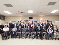 Kayla Isomura/High River Times/Postmedia Network. More than 70 veterans from High River, Blackie, Cayley, Mossleigh and Aldersyde attended a luncheon in their honour at the High River legion on May 15.