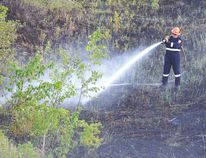 The county's fire ban has been lifted following rain over the long weekend, after numerous grass fires struck Strathcona County. Photo by Krysta Martell/Sherwood Park News/Postmedia Network