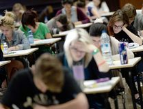 B.C. students will only have to complete two provincial exams to graduate starting next school year. Getty Images