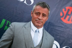 """Matt LeBlanc arrives at the Summer TCA CBS, CW, Showtime Party at Pacific Design Center on Monday, Aug. 10, 2015, in West Hollywood, Calif. Former """"Friends"""" star LeBlanc heads the family comedy """"Man with a Plan,"""" in this fall's television lineup. THE CANADIAN PRESS/ AP/Photo by Rich Fury/Invision/AP"""