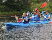 Contestants in last year's Great Canadian Kayak Challenge