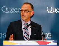 <p>Dr Steven Liss, vice-principal research at Queen's University at Richardson Hall, Queen's University on Thursday June 11, 2015. Julia McKay/The Kingston Whig-Standard/Postmedia Network