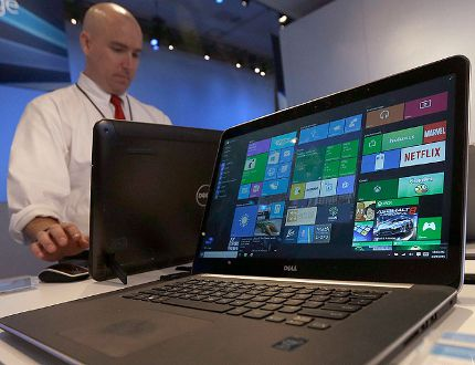 Windows 10 on a Dell laptop