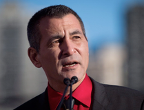 Former Minister of Fisheries, Oceans and the Canadian Coast Guard, Hunter Tootoo