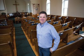 Goshen Baptist Church hired a full-time pastor who hopes to raise the profile of their rural church.  Pastor Carl Walters started Sunday, May 8. (CARLA GARRETT PHOTO)