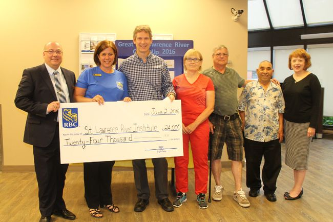 <p>The RBC Blue Water Project is supporting the river cleanup, and from left are Mike Belliveau (RBC regional vice-president), Dianne Nixon (RBC manager, Pitt Street branch), Dr. Jeff Ridal (St. Lawrence River Institute of Environmental Sciences), Patricia O'Hara (Seaway Valley Divers), Mark Kaddie (Cornwall Lunker Club), Joe Belmonte (Cornwall Lunker Club) and Karen Douglass Cooper (River Institute), on Thursday, June 2, 2016, in Cornwall, Ont. Todd Hambleton/Cornwall Standard-Freeholder/Postmedia Network