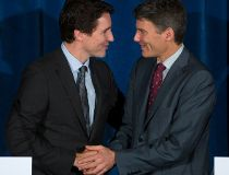 Trudeau and robertson