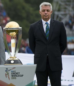 Dave Richardson, chief executive of the ICC. (MARTY MELVILLE/AFP files)