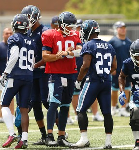 Joe Iatzko was taking two courses at the University of Windsor and working at the Beer Store when the Argos reached out to him recently. (Jack Boland/Toronto Sun)