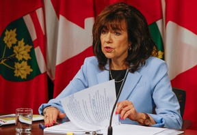 Ontario auditor general Bonnie Lysyk. (Dave Thomas/Toronto Sun)