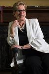 Ontario Premier Kathleen Wynne is photographed in her office in Queen's Park Thursday, June 9, 2016. (THE CANADIAN PRESS/Chris Young)