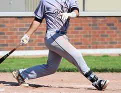Luke Van Rycheghem of Kent Bridge will switch to first base from catcher after being drafted by the Arizona Diamondbacks in the 23rd round Saturday. (MARK MALONE/The Daily News)