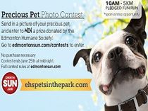 Pets in the Park Photo Contest