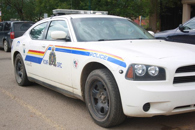 A Wood Buffalo RCMP car  in Fort McMurray Alta. on Monday June 22, 2015. Andrew Bates/Fort McMurray Today/Postmedia Network