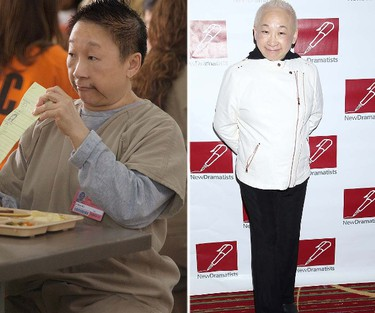 """Chang, played by Lori Tan Chinn. FUN FACT: You might remember Chinn from her role as Iris the hairdresser in the second season of """"Roseanne"""".(Handout/WENN.COM)"""