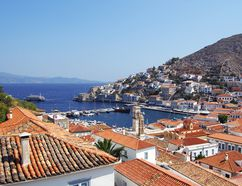 Memorable seaside views, whitewashed homes scrambling up the hillside, well-worn harborside cafés perfect for lingering — and no cars — all combine to make Hydra my ideal Greek isle. (photo: Rick Steves)