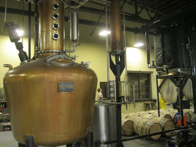 """The still at Nelson's Green Brier Distillery, nicknamed """"Miss Louisa"""" in honor of the family's matriarch, who became the first women to run a distillery in the late 1800s. (SARAH DOKTOR/Postmedia Network)"""