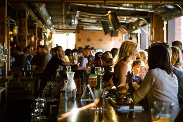 The Mercer Tavern is a wonderful bar and restaurant carved out of an historic building in the ICE District. PHOTO COURTESY EDMONTON TOURISM