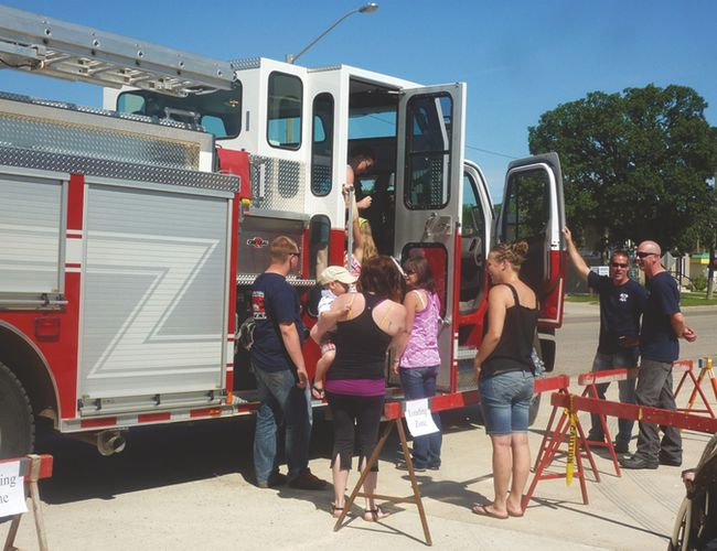 The public will have a chance to check out their local fire department during the Carman-Dufferin Fire Department open house set for June 18. (FILE/CARMAN VALLEY LEADER)