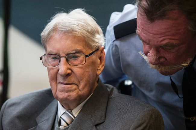 Reinhold Hanning in Court