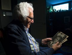 Holocaust survivor Bill Glied recalls the last time he saw his little sister. (Craig Robertson/Toronto Sun)