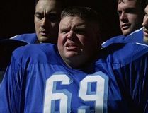 Ron Lester in a scene from Varsity Blues. (Handout)