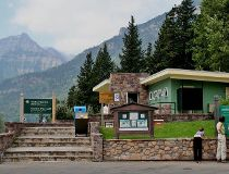 Waterton Lakes visitor centre
