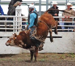 The 10th annual Buffalo Hills Bullriding event takes place this Wednesday at the Arrowwood rodeo grounds. Vulcan Advocate file photo