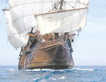 El Galeon, an early colonial Spanish ship, will be open for tours on the Toronto waterfront Canada Day weekend.