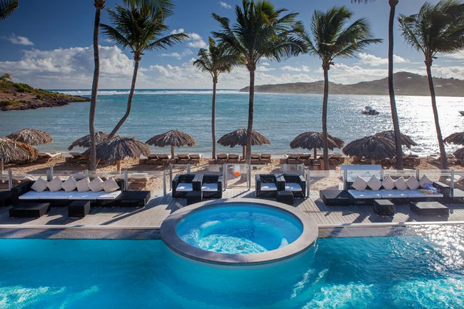 <b>Le Guanahani:</b> This resort, located on the luxury isle of St. Barth's, is celebrating a milestone anniversary with a special offer giving travellers 25% off rates on all ocean rooms. The 30th Anniversary package includes three nights' accommodations, welcome drink and gift upon arrival, daily buffet breakfast, a $112 resort credit, and transfers to and from the airport. Rates start at $2,200 per person through Aug. 26, 2016. See leguanahani.com for more details. (Courtesy Le Guanahani)