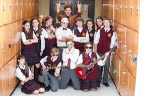 Cast members of the upcoming Original Kids Theatre Company production of School of Rock.
