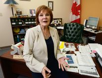 London MP Irene Mathyssen, who helped end federal taxes on women's hygiene products, is now campaigning for free birth control for Canadian women. Photo taken on Monday June 27, 2016 (MORRIS LAMONT, The London Free Press)