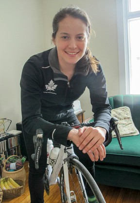 Kingston's Annie Foreman-Mackey has been named an alternate on the women's pursuit team at the Rio Games. (Patrick Kennedy/The Whig-Standard)