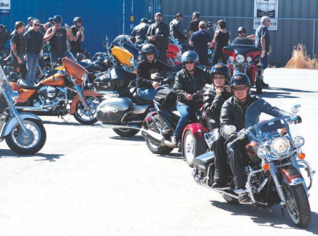 annual motorcycle poker rally