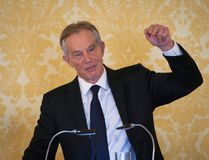 Former Prime Minister, Tony Blair speaks during a press conference at Admiralty House, where responding to the Chilcot report he said: 'I express more sorrow, regret and apology than you may ever know or can believe on July 6, 2016. in London, United Kingdom. (Photo by Stefan Rousseau - WPA Pool/Getty Images)