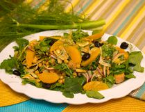 Chickpea, Tuna and Fennel Salad with Oranges and Olives. (MIKE HENSEN, The London Free Press)