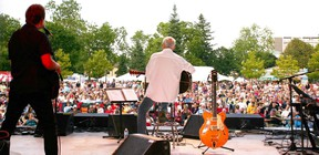 Ian Thomas performs at the Home County Music and Art Festival in 2012. Organizers say that 26 different acts will perform at this year's event, taking place on July 15-17.
