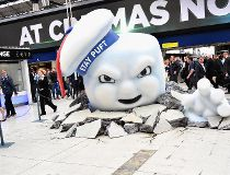 Ghostbusters Takes Over Waterloo Station