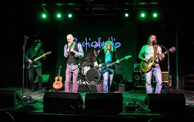 Tragically Hip tribute band Practically Hip will perform at the Bushstock music festival at Lakeside Vista near Port Ryerse on the weekend (File Photo)